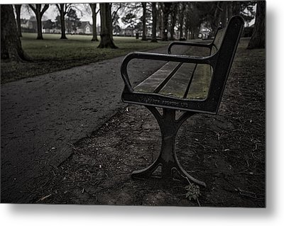Metal Print featuring the photograph In The Park by Stewart Scott