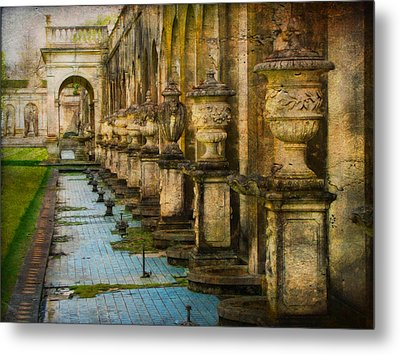 Metal Print featuring the photograph In The Past And Present by John Rivera