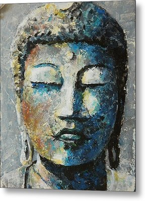 In The Present Metal Print by John Henne
