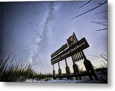 In The Sea Oats Of Fort Pickens Metal Print by JC Findley