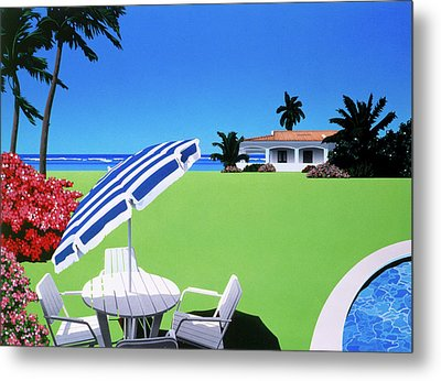 In The Shade Metal Print by David Holmes