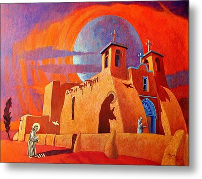 In The Shadow Of St. Francis Metal Print