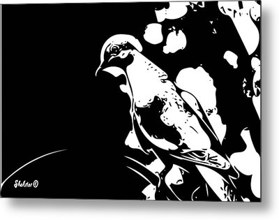 In The Shadows  Metal Print