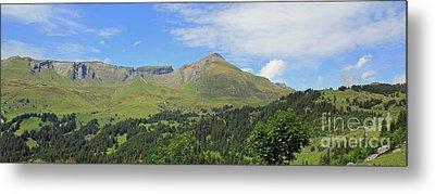 In The Swiss Alps Jungfrau Region Metal Print