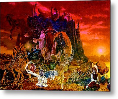 In The Theater Of Time Metal Print