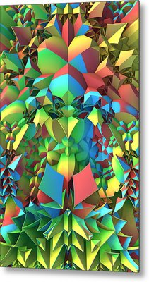 Metal Print featuring the digital art In The Tropics by Lyle Hatch
