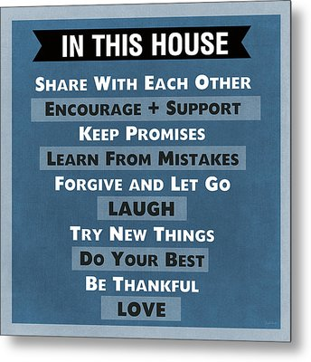 In This House Metal Print
