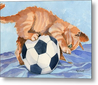 In Training Metal Print by Marsha Elliott