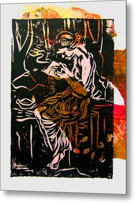Incense Box 3 Metal Print by Adam Kissel
