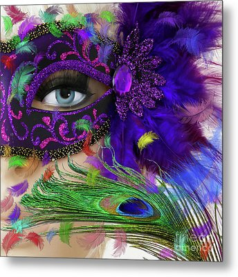 Incognito Metal Print by LemonArt Photography