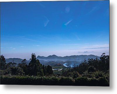 Incredible India - View From Doddabetta Metal Print