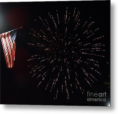 Independence Day Metal Print by Gina Sullivan