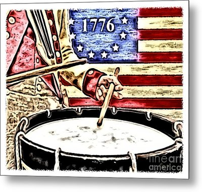 Independence Metal Print