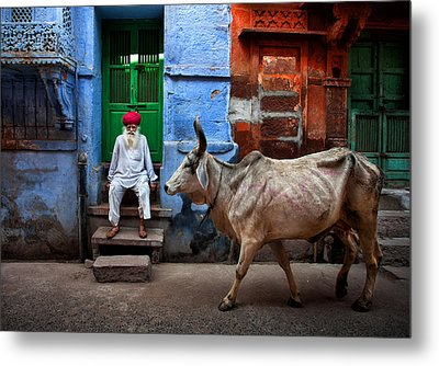 India Metal Print by Fadhel Almutaghawi