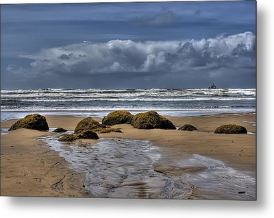 Indian Beach Metal Print