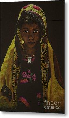Indian Child Metal Print