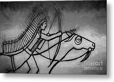 Indian Memorial Metal Print by Sharon Seaward