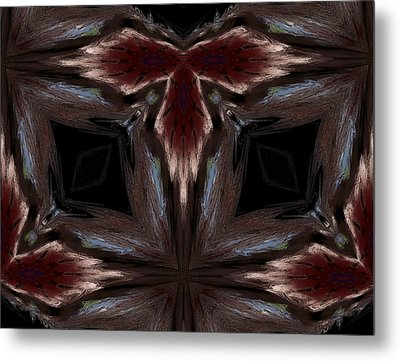 Indian Outlaw Metal Print by Karen M Scovill