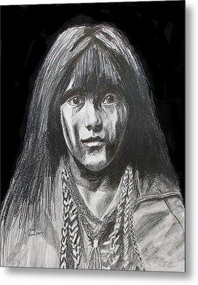 Indian Princess Metal Print by Stan Hamilton