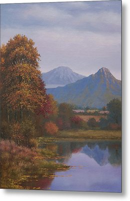 Indian Summer Revisited Metal Print by Sean Conlon