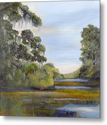 Indian Summer Metal Print by Shirley Lawing