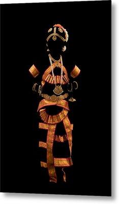 Indian -temple Jewellery Metal Print
