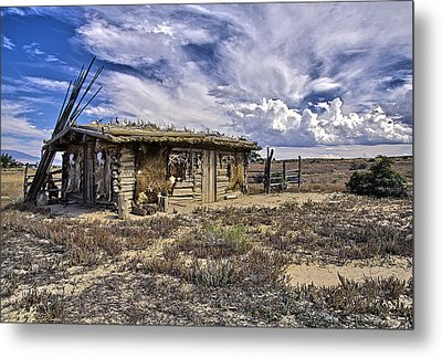 Metal Print featuring the photograph Indian Trading Post Montrose Colorado by James Steele