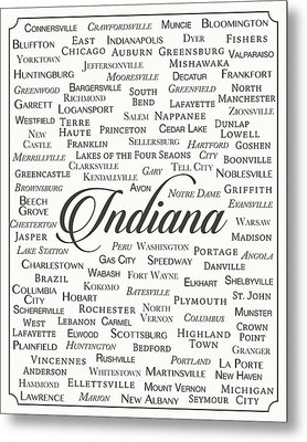 Indiana Metal Print by Finlay McNevin