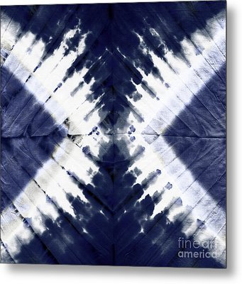 Indigo II Metal Print by Mindy Sommers