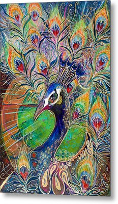 Confidence And Beauty- Individuality Metal Print