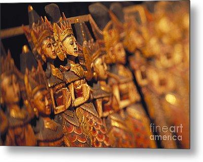 Indonesian Dolls Metal Print by Dana Edmunds - Printscapes