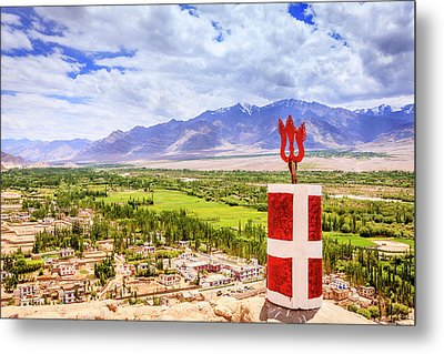 Metal Print featuring the photograph Indus Valley by Alexey Stiop