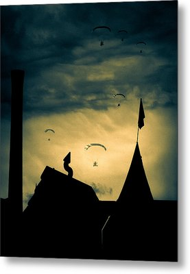 Industrial Carnival Metal Print by Bob Orsillo