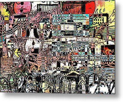 Industrial Complex 2 Metal Print by Andy  Mercer