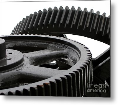 Industrial Concept Metal Print by Yali Shi