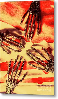 Industrial Death Machines Metal Print