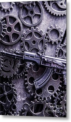 Industrial Firearms  Metal Print