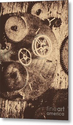 Industrial Gears Metal Print by Jorgo Photography - Wall Art Gallery