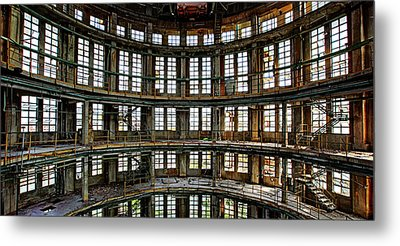 Metal Print featuring the photograph Industrial Heritage - Urban Exploration by Dirk Ercken