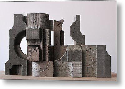 Industrial Landscape 1 Metal Print by David Umemoto