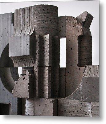 Industrial Landscape 2 Metal Print by David Umemoto