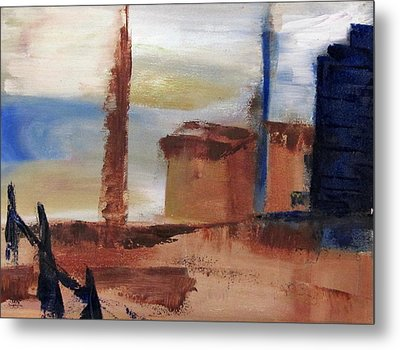 Industrial Metal Print by Patricia Cleasby