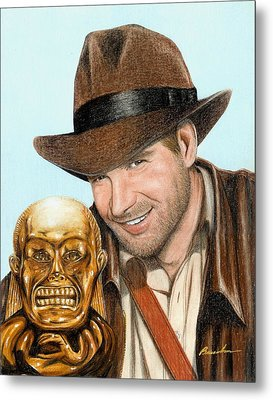 Indy Metal Print by Bruce Lennon
