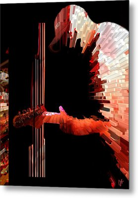 Inferno Metal Print by Ken Walker