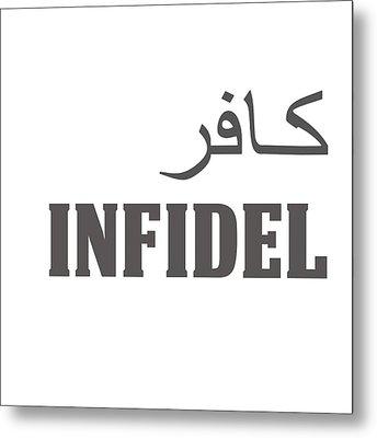 Infidel Metal Print by Linda Bissett