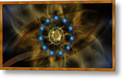Infinite Lotus Metal Print by Kenneth Armand Johnson