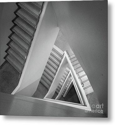 Infinite Stairs Metal Print