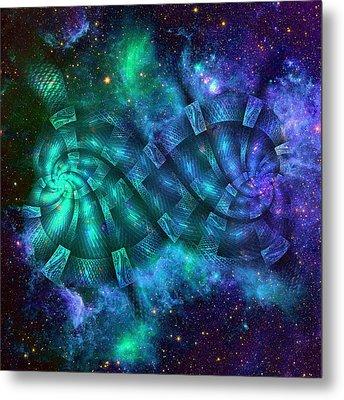 Infinity And Beyond Metal Print by Anastasiya Malakhova