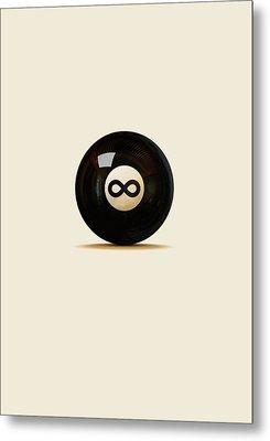 Infinity Ball Metal Print
