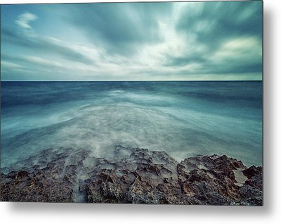 Infinity Sea Metal Print by Stelios Kleanthous